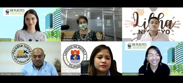 WWF-Philippines highlights local initiatives for Plastic-free July