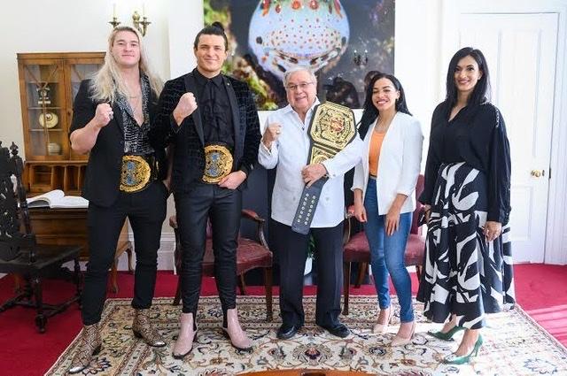 NXT UK® Superstars Visit Philippine Embassy in London
