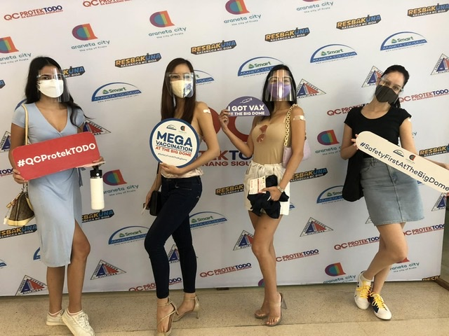 Bb. Pilipinas Candidates encourage public to get vaccinated