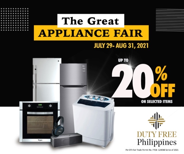 THE GREAT APPLIANCE FAIR AT DUTY FREE FIESTAMALL