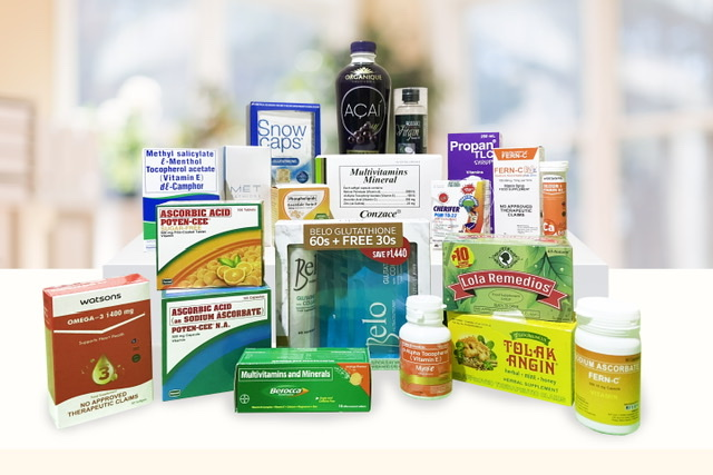 Stay healthy and well with vitamins from Watsons