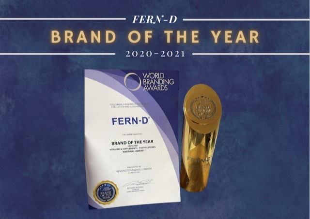 FERN-D: SUNSHINE ON TOP OF ALL WORLD BRANDS