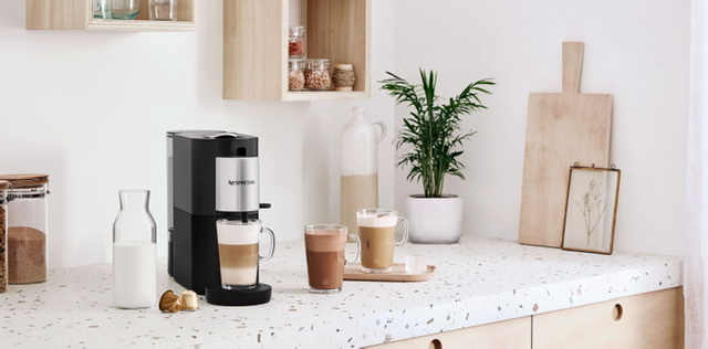 MAKE CAFE MOMENTS AT HOME EXCEPTIONAL WITH NESPRESSO