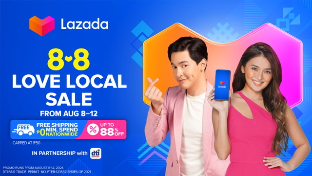 Lazada and DTI strengthen partnership, highlight Filipino MSMEs in 8.8 Love Local Sale