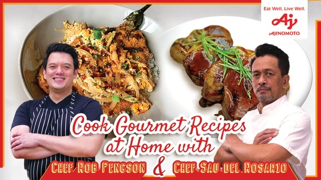 Cook gourmet recipes at home with Ajinomoto
