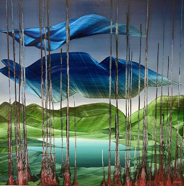 'Chrysalis' by Justin Nuyda: Reflecting on the living master's vivid & unwavering strokes