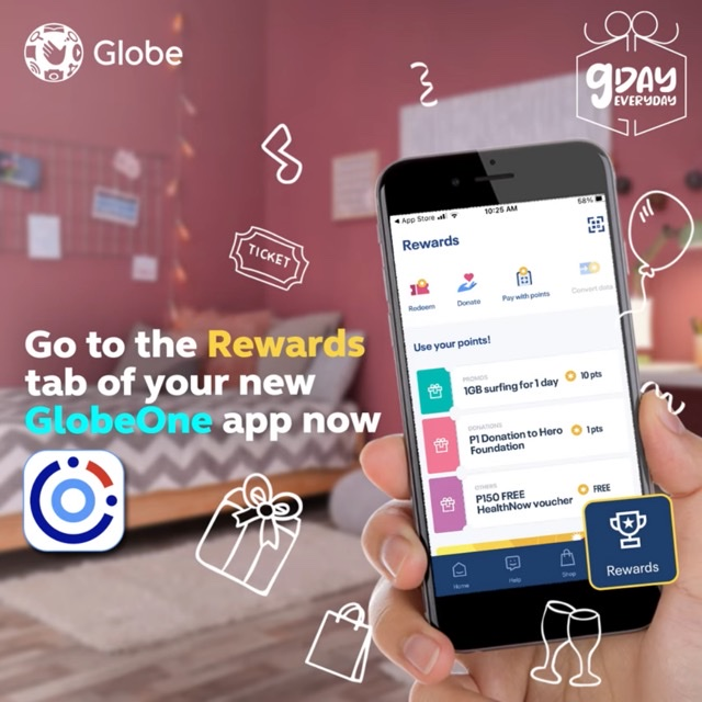 GDay everyday with bigger, better GlobeOne Super App